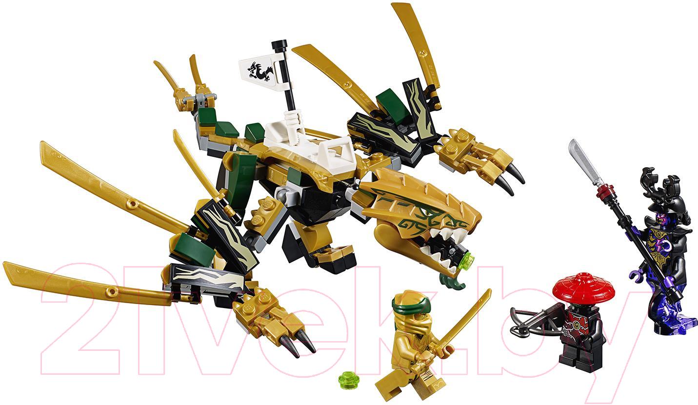 Купить Конструктор Lego, Ninjago Золотой Дракон 70666, Китай, пластик