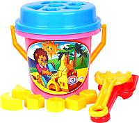 Набор игрушек для песочницы ТехноК Умный малыш / 2025 -
