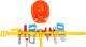 Набор инструментов игрушечный ТехноК 4401 -