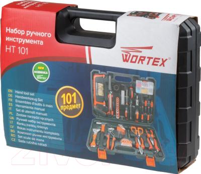 Универсальный набор инструментов Wortex HT 101 (HT10101026) -