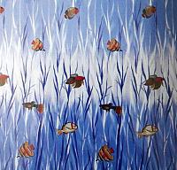 Шторка-занавеска для ванны Miranda Tropical Fish -
