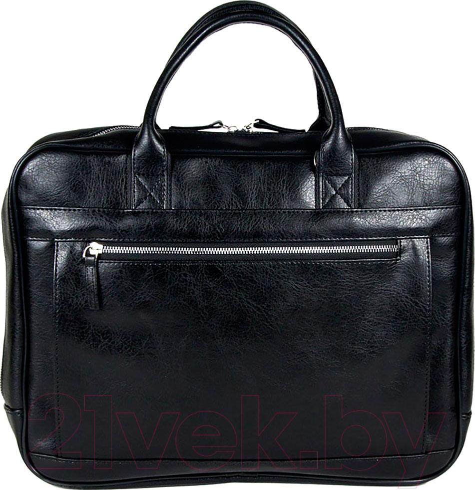 Купить Сумка BorZa, 717-02101 (черный), Беларусь, искусственная кожа