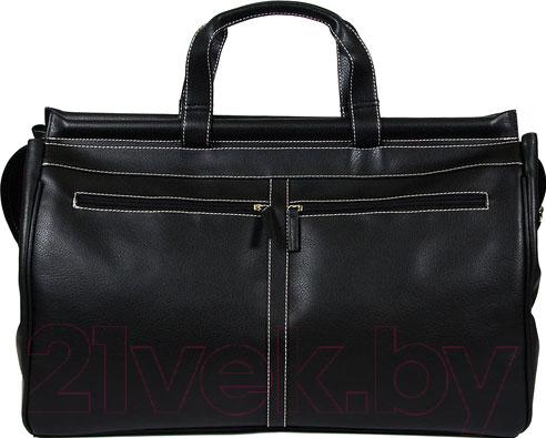 Купить Дорожная сумка BorZa, 716-00801 (черный), Беларусь, искусственная кожа