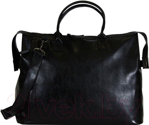 Купить Дорожная сумка BorZa, 714-01601 (черный), Беларусь, искусственная кожа