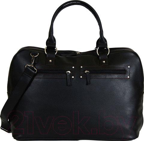 Купить Дорожная сумка BorZa, 714-01801 (черный), Беларусь, искусственная кожа