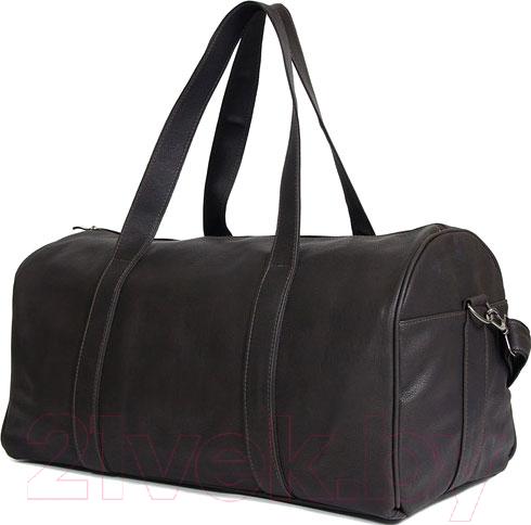 Купить Дорожная сумка BorZa, 716-00901 (черный), Беларусь, искусственная кожа