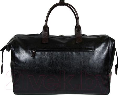 Купить Дорожная сумка BorZa, 716-01201 (черный), Беларусь, искусственная кожа