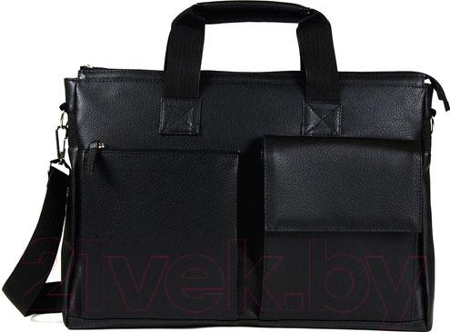Купить Сумка BorZa, 714-02801 (черный), Беларусь, искусственная кожа