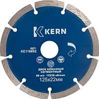 Отрезной диск алмазный Kern KE118722 -