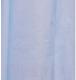 Шторка-занавеска для ванны V-line 180x180 (голубой) -