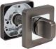 Фиксатор дверной защелки Morelli MH-WC-S55 GR/PC -