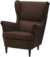 Кресло мягкое Ikea Страндмон 904.198.85 -