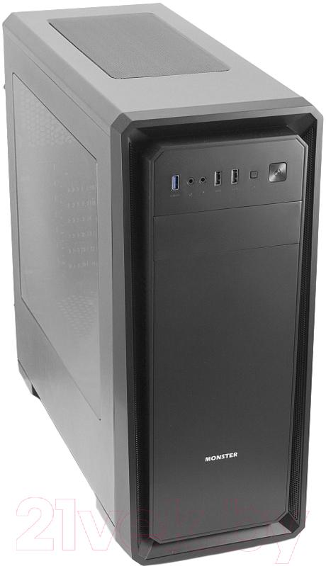 Купить Корпус для компьютера 3Cott, Monster I (черный), Китай