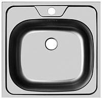 Мойка кухонная Ukinox CLM480.480 GT6C 0C -