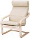 Кресло мягкое Ikea Поэнг 592.514.64 -