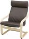 Кресло мягкое Ikea Поэнг 792.514.63 -
