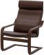 Кресло мягкое Ikea Поэнг 892.514.67 -