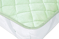 Наматрасник защитный Vegas Protect Cotton S4 140x200 (фисташковый) -