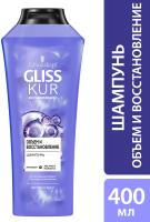 Шампунь для волос Gliss Kur Объем и восстановление для тонких волос (400мл) -