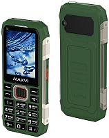 Мобильный телефон Maxvi T2 (зеленый) -
