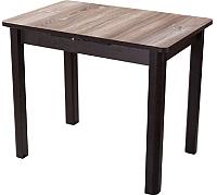 Обеденный стол Домотека Джаз ПР-М (дуб темный) -
