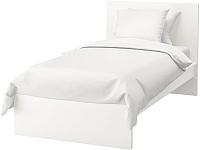 Односпальная кровать Ikea Мальм 392.109.93 -