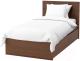 Односпальная кровать Ikea Мальм 392.278.80 -