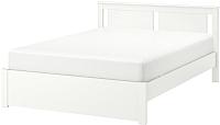 Полуторная кровать Ikea Сонгесанд 392.412.87 -