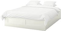 Двуспальная кровать Ikea Бримнэс 492.107.37 -