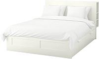 Двуспальная кровать Ikea Бримнэс 492.107.42 -