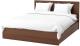 Двуспальная кровать Ikea Мальм 492.109.02 -