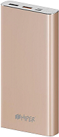 Портативное зарядное устройство HIPER MPX15000 (золото) -