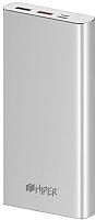 Портативное зарядное устройство HIPER MPX15000 (серебристый) -