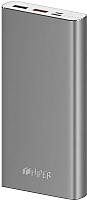 Портативное зарядное устройство HIPER MPX15000 (серый космос) -