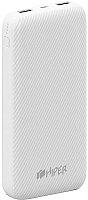 Портативное зарядное устройство HIPER SPX20000 (белый) -