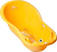 Ванночка детская Tega Фольклор / FL-005-113 (желтый) -