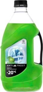 Жидкость стеклоомывающая Grass Antifrost -20C Green Apple / 110310 (4л)