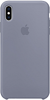 Чехол-накладка Apple Silicone Case для iPhone XS Max Lavender Gray / MTFH2 -
