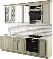 Готовая кухня Молодечномебель Злата 2600 (эмаль) -