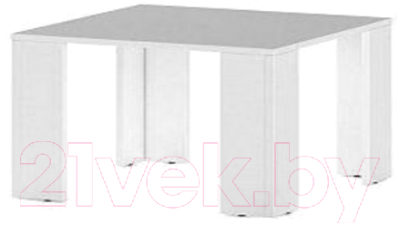Журнальный столик Славянская столица Д-СЖ800 (белый)