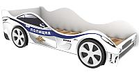 Стилизованная кровать детская Бельмарко Полиция / 518 -