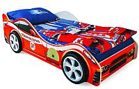 Детская кровать-машинка Бельмарко Пожарная охрана / 522 -