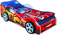 Стилизованная кровать детская Бельмарко Тачка / 512 (красный) -