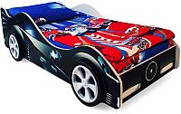 Детская кровать-машинка Бельмарко Бэтмобиль / 517 -