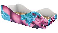 Стилизованная кровать детская Бельмарко Пони Нюша / 544 -