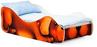 Стилизованная кровать детская Бельмарко Собачка Жучка / 546 -