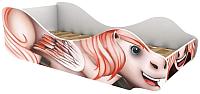 Стилизованная кровать детская Бельмарко Пегас Флай / 543 -