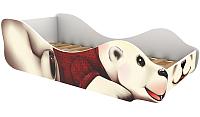 Стилизованная кровать детская Бельмарко Полярный мишка Умка / 540 -