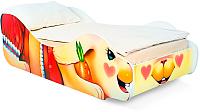 Стилизованная кровать детская Бельмарко Зайка Поли / 550 -