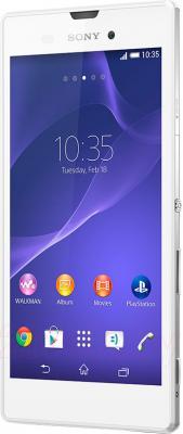 Смартфон Sony Xperia T3 (D5102) (белый) - общий вид